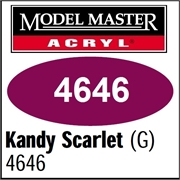 Tinta Model Master 4646 Acryl KANDY SCARLET BRILHO - 14,7ml