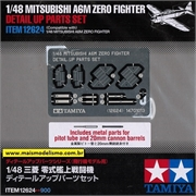 PHOTO-ETCHED Mitsubishi A6M ZERO Fighter - Tamiya - 1/48