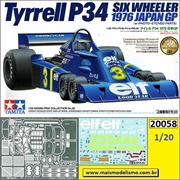 Tyrrel P34 1976 Japan GP com P/E - Tamiya - 1/20