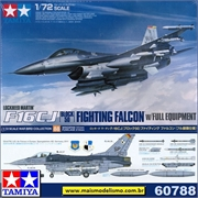 F-16CJ Block 50 Fighting Falcon w/ Full Equipment - Tamiya - 1/72