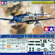 North American P-51D Mustang 8th AF - Tamiya - 1/48