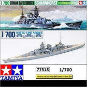 German Battlecruiser Scharnhorst - Tamiya - 1/700