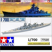 German Battlecruiser Gneisenau - Tamiya - 1/700