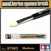 Weathering Sponge Brush (Medium) - Tamiya 87083