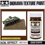 Textura MARROM TERRA ESCURO (Dark Earth) - Tamiya 87109 - 100ml