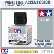 PANEL LINE Accent Color (Light Gray) - Tamiya 87189
