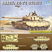 Brazil EE-T2 OSORIO - Trumpeter - 1/35