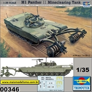 M1 Panther II Mineclearing Tank - Trumpeter - 1/35