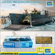 WWII US Navy LCM (3) Landing Craft - Trumpeter - 1/35