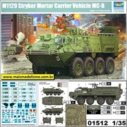 M1129 Stryker Mortar Carrier Vehicle MC-A - Trumpeter - 1/35