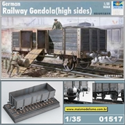 German Railway Gondola (High Sides) - Trumpeter - 1/35