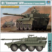B1 Centauro AFV (Early Version) ROMOR - Trumpeter - 1/35