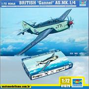 British GANNET AS .Mk.I/4 - Trumpeter - 1/72