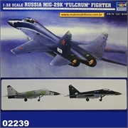 MiG-29K Fulcrum - Russian Fighter - Trumpeter - 1/32
