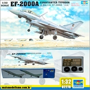 EF-2000A Eurofighter Typhoon - Trumpeter - 1/32