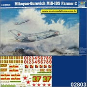 Mikoyan-Gurevich MIG-19 S FARMER C - Trumpeter - 1/48