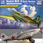 Soviet MiG-3 Early Version - Trumpeter - 1/48