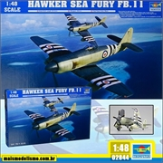 Hawker Sea Fury FB.11 - Trumpeter - 1/48