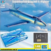 Supermarine Attacker F.1 Fighter - Trumpeter - 1/48