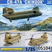 Helicóptero CH-47A CHINOOK - Trumpeter - 1/35
