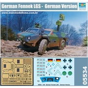 German Fennek LGS - German Version - Trumpeter - 1/35