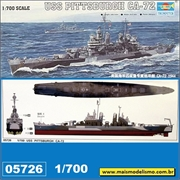 USS Pittsburgh CA-72 1944 - Trumpeter - 1/700