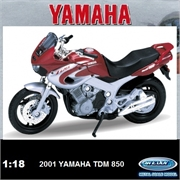 Yamaha 2001 - TDM 850 - Welly - 1/18