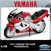 Yamaha 2001 - YZF 1000R Thunderace - Welly - 1/18