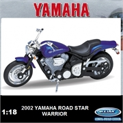 Yamaha 2002 - Road Star Warrior - Welly - 1/18