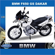 BMW F  650 GS DAKAR - Welly - 1/18
