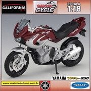 Yamaha TDM 850 - Welly California Cycle - 1/18