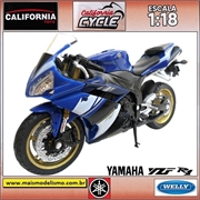 Yamaha YZF R1 - Welly California Cycle - 1/18