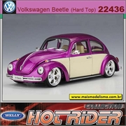 Volkswagen VW FUSCA Low Rider - Welly - 1/24