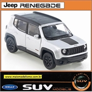 Jeep Renegade Trailhawk Branco - Welly - 1/32