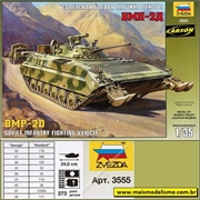 BMP-2D Soviet Infantry Fighting Vehicle - Zvezda - 1/35
