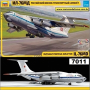 Russian Strategic Airliner ILYUSHIN IL-76 MD - Zvezda - 1/144