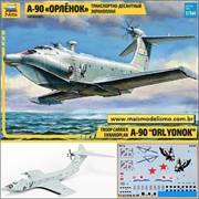 A-90 Orlyonok Troop Carrier Ekranoplan - Zvezda - 1/144