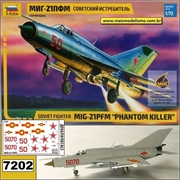 MiG-21PFM Phantom Killer - Soviet Fighter - Zvezda - 1/72