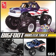 BIGFOOT MONSTER TRUCK - AMT - 1/25