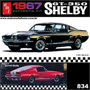 1967 - SHELBY GT-350 Preto - AMT - 1/25