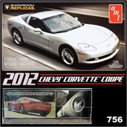 2012 - Chevy CORVETTE Coupe - AMT - 1/25
