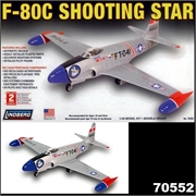 F- 80C SHOOTING STAR - Lindberg - 1/48