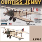 Curtiss JENNY - Lindberg - 1/48